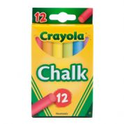 Crayola Anti-dust Chalk 12 Pack Coloured